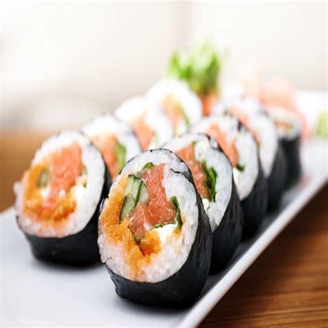 roll sushi 6 best low calorie sushi rolls shape magazine