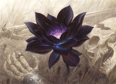 Magic The Gathering Lotus Chris Rahn Black Lotus On Ebay