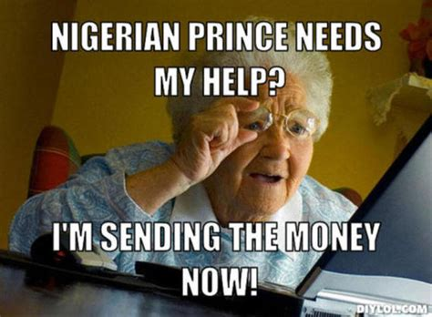 Nigerian Memes - imagine what would happen if derpy sees an obvious scam