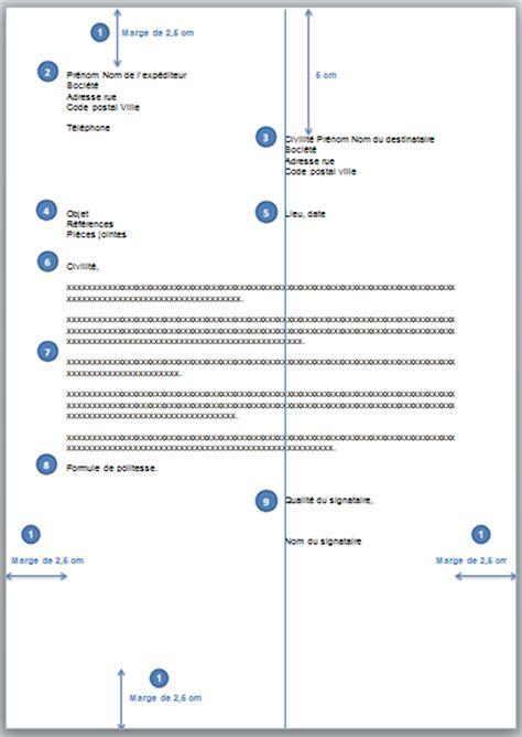 Présentation Lettre De Motivation Marge Sb Astuces Comment Pr 233 Senter Un Courrier Correctement Dans Word