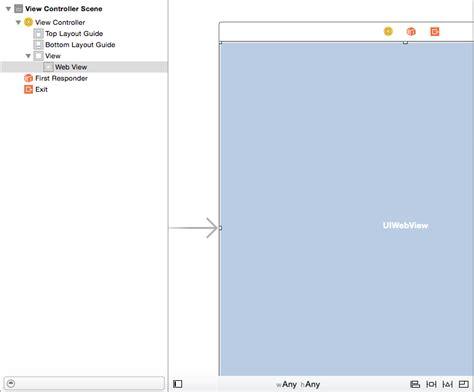 tutorial xcode webview tutorial razi net my uiwebview exle using swift in ios