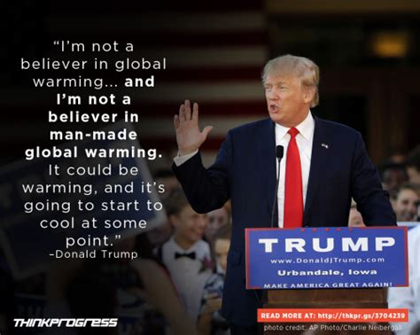donald trump on climate change the changing climate think progress donald trump on