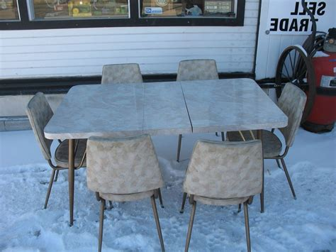 retro metal kitchen table small table chair chairs metal tables set small