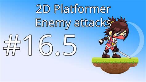 unity tutorial enemy 16 5 unity 5 tutorial for beginners 2d platformer