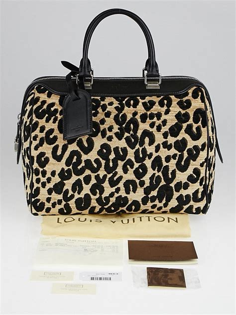 louis vuitton limited edition stephen sprouse leopard