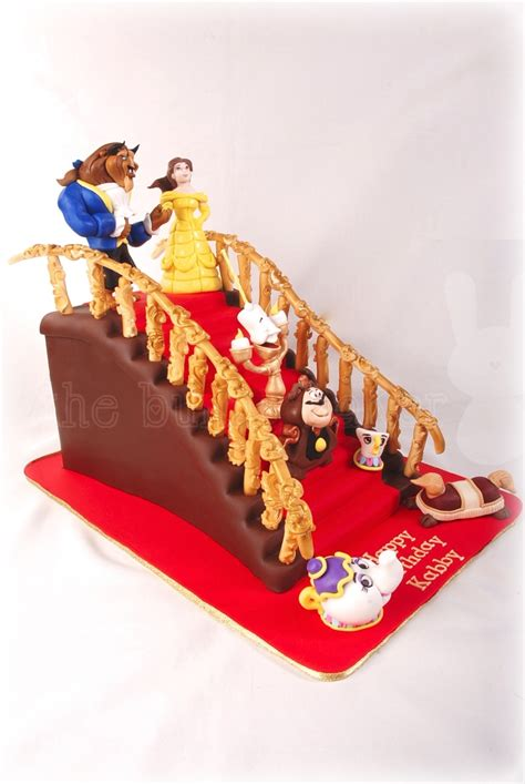 Guy Banister Beauty And The Beast Staircase Cake Cakecentral Com