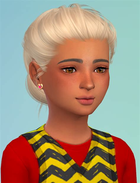 sims 4 hair kids sims 4 cc s the best hair for kids by