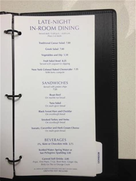 marriott room service menu room service menu picture of delta hotels by marriott winnipeg winnipeg tripadvisor