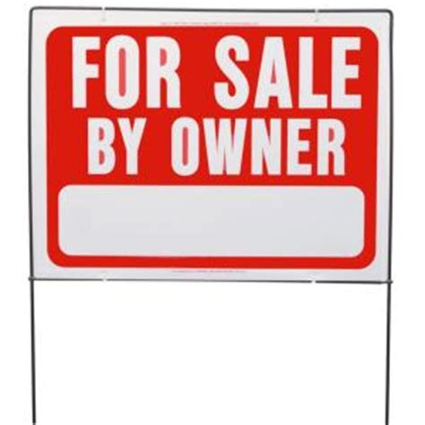 hy ko for sale by owner sign with frame rsf 605 the home