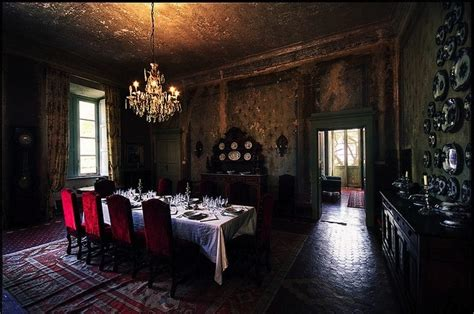 gothic dining room pinterest