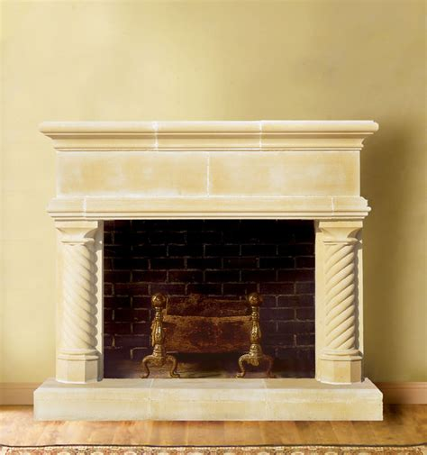 Cast Fireplace Mantels by Cast Fireplace Mantel Traditional