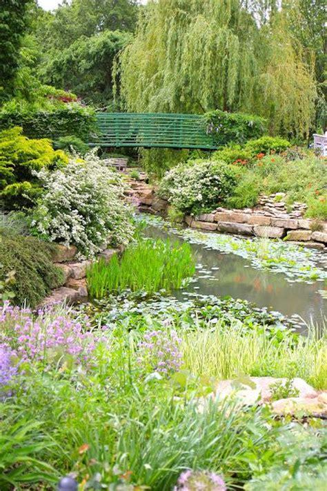 Monet Garden Overland Park Arboretum Botanical Gardens Kansas City Botanical Garden