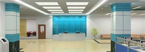 Commercial Interiors by Office Building Interiors By Jaipur Interiors
