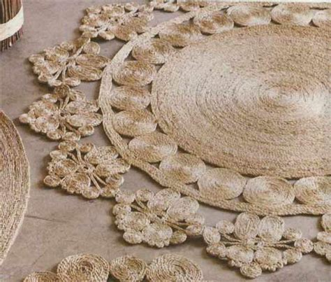 how to make a rug out of rope picture of diy rustic rug of jute or sisal rope