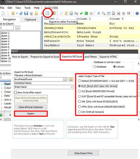 csv format to xlsx 5 free csv to excel converter for windows convert csv to xlsx