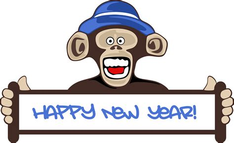 new year monkey png search results for happy newyear clipart calendar 2015