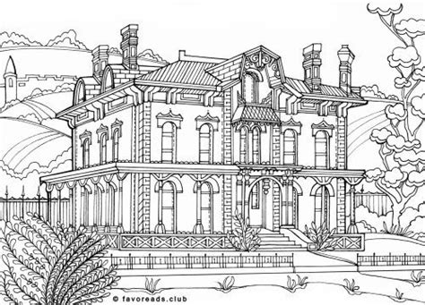 mansion house coloring pages 744 best images about adult colouring buildings houses