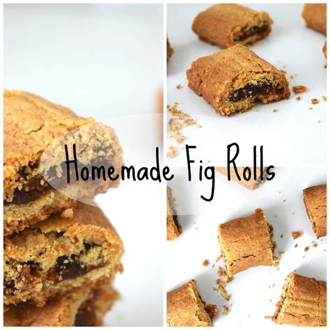 Handmade Biscuits Uk - fig rolls recipe easy to make biscuits this