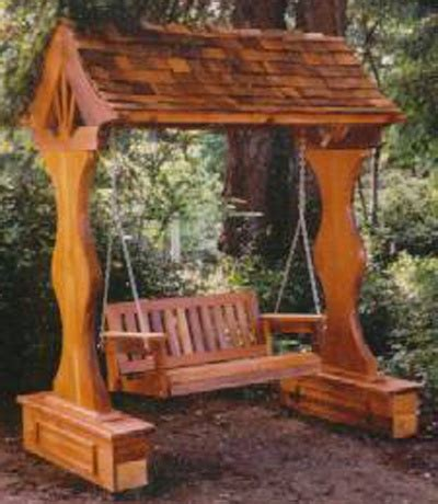 covered swing bench stromboli bench swing arbor outdoors pinterest