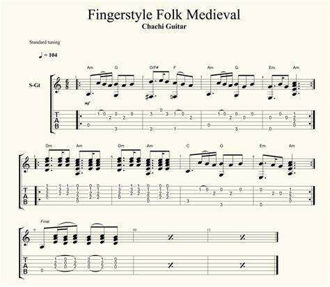 fingerstyle en la guitarra canciones en ingl 233 s chachi guitar