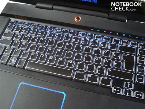 notebook tastiera illuminata recensione portatile per il gaming alienware m15x