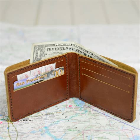 Handmade Wallet Leather - handmade leather wallet by bobby rocks