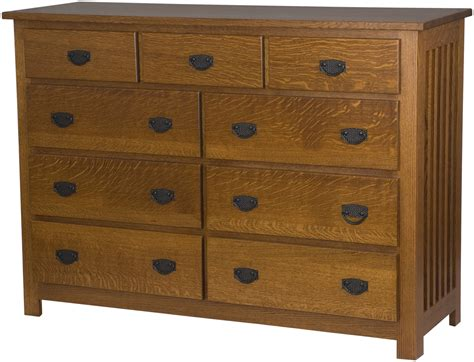 Mission Dressers mission horizontal dressers solid wood dresser in the