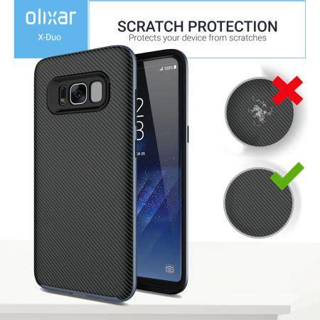 Carbon Fiber Samsung S8 by Olixar Xduo Samsung Galaxy S8 Carbon Fibre Metallic