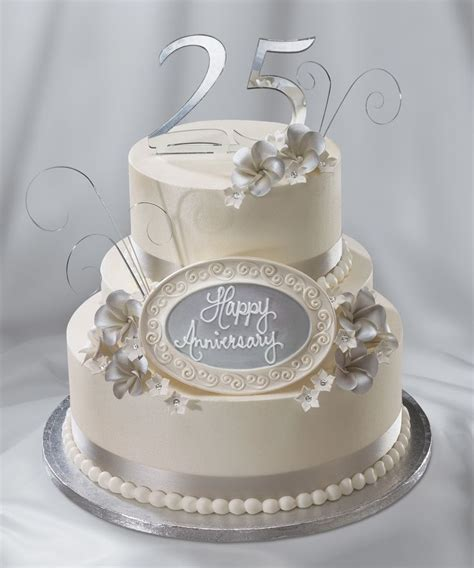 wedding anniversary cake 25th wedding anniversary cake silver anniversary quot i do