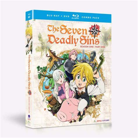 the seven deadly sins 1 seven deadly sins the seven deadly sins season 1 part 1 dvd