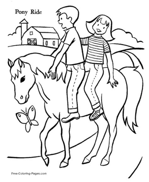 coloring page girl riding horse horse coloring pages sheets and pictures