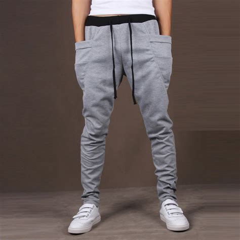 Harem Sweatpants casual sport sweat harem baggy jogger