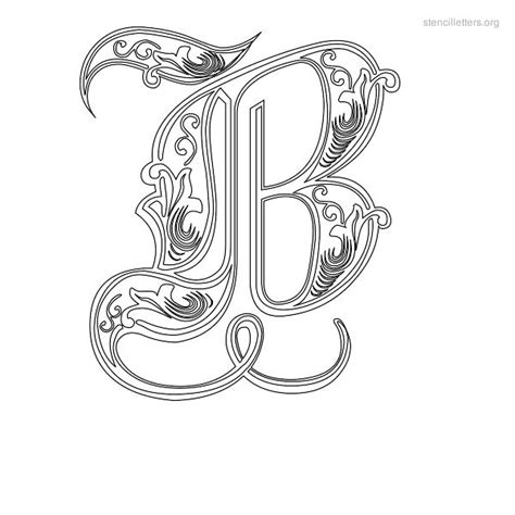 9 best images of fancy printable letter templates free