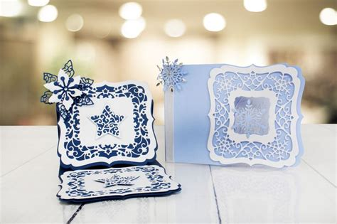 christmas craft a card collection tattered lace