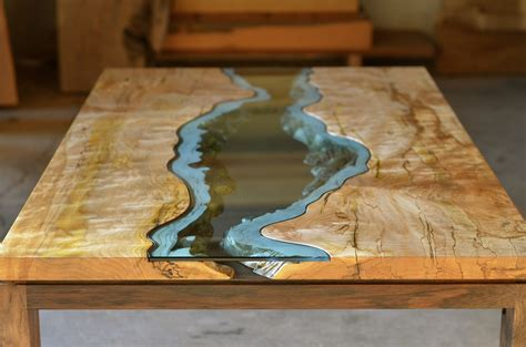 incredibly cool diy project glowing resin inlaid wood