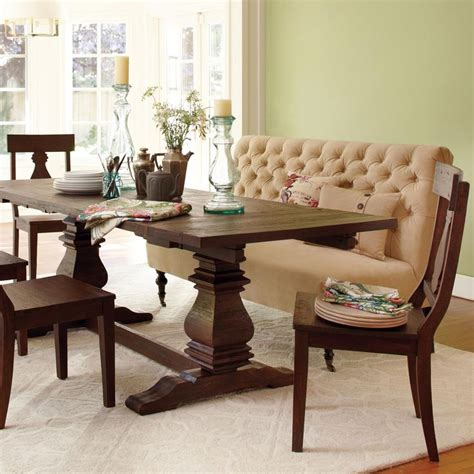 tufted dining banquette furniture brown tufted banquette bench for dining room