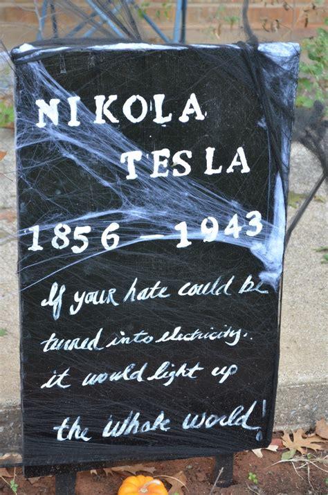 Where Is Tesla Buried Nikola Tesla Diy Gravestone Gt Recent Proof Of My 800 A