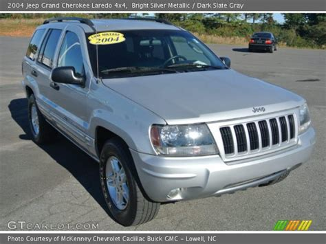 2004 jeep grand silver bright silver metallic 2004 jeep grand laredo