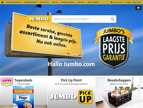 jumbo shop jumbo supermarkten launches shopping javelin