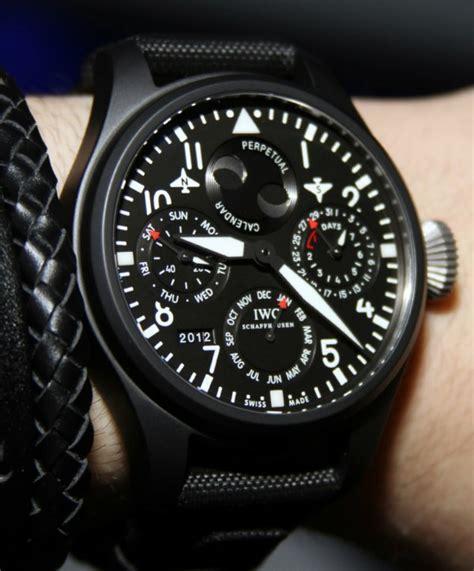 best iwc watches iwc big pilot top gun watches for 2012 on ablogtowatch