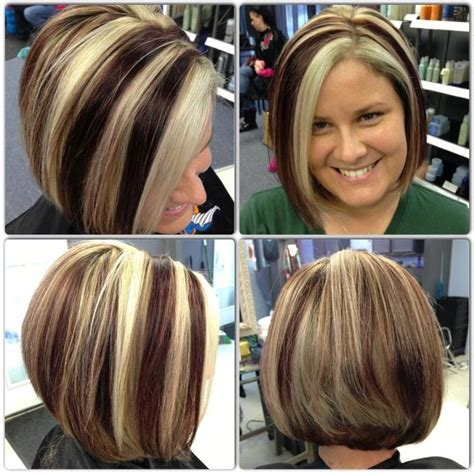 Dramatic Hair Color Highlights Pictures | dramatic color on short hair by trisha at fringe salon