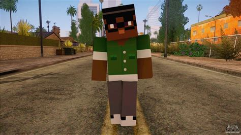 mine craft for bigsmoke minecraft skin for gta san andreas