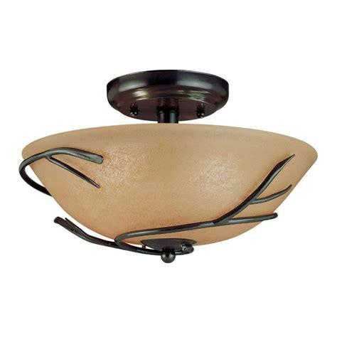 semi flush mount light 12 inch semi flush mount ceiling light with twig
