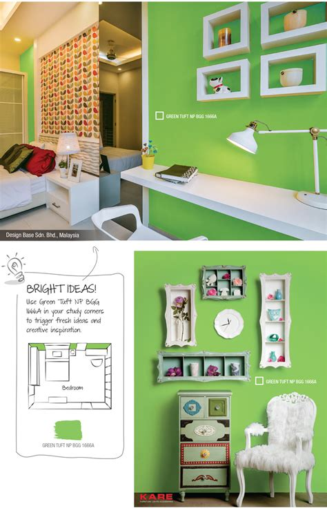 green tuft colour trend 2016 nippon paint singapore