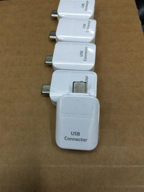 Otg Samsung S7 original samsung galaxy s7 s7 edge otg usb connector micro usb to usb type adapter for samsung