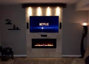 best 25 wall mount electric fireplace ideas on