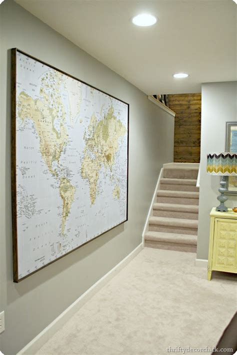 how to hang a map without a frame ikea wall art map ready to hang frames pictures