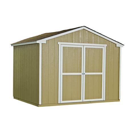 handy home cumberland storage shed    ft diy