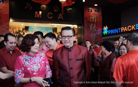 new year open house malaysia mca hosts cny open house foto astro awani