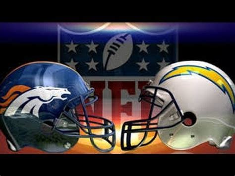chargers playoff 2014 broncos vs chargers afc divisional playoff